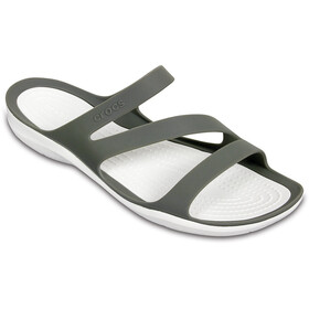 Crocs Swiftwater Sandali Donna, smoke/white